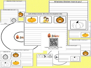 OCTOBER PACKET with QR codes and Pennants