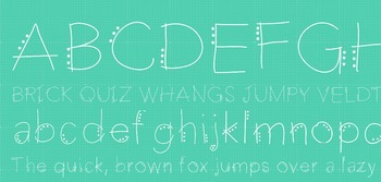 Fab Teacher Fonts: Dotty Parton (Commercial License Included)