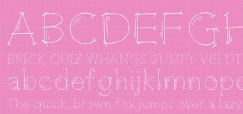 Fab Teacher Fonts: Gettin' Jiggy with It (Commercial Licen