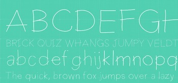 Fab Teacher Fonts: Hashtag Heaven (Commercial License Included)