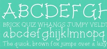 Fab Teacher Fonts: Just Chillin' by the Pool (Commercial License Included)