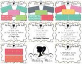 Fab Teacher Fonts MEGA BUNDLE: Sets 1-3 (17 Fonts & Commercial License Included)