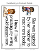 Fab Vocab {Week 2} A Weekly Vocabulary Unit