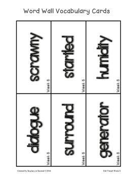 Fab Vocab {Week 8} A Weekly Vocabulary Unit