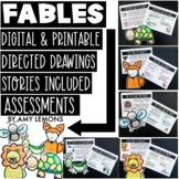Fable Activities and Directed Drawings Digital and Printable