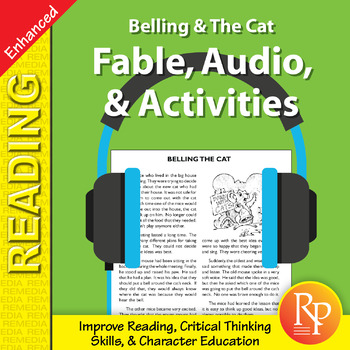 Fable, Audio, & Activities: Belling & The Cat - Enhanced