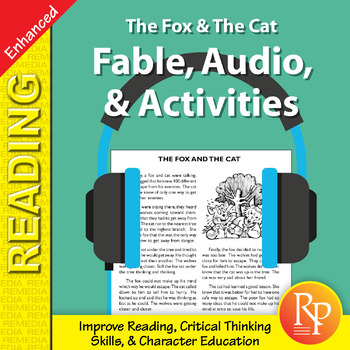 Fable, Audio, & Activities: The Fox & The Cat - Enhanced