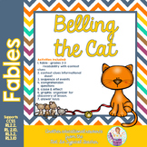 Fable Belling the Cat story with comprehension activities RL 3.2 RL 2.2 RL3.1
