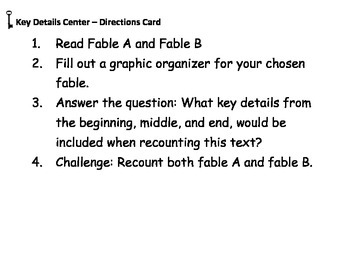 Fable Centers