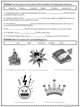Fairy Tale, Fables, Myths and Legends Unit