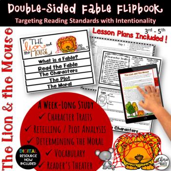 Fables 3rd Grade 4th Grade The Lion Mouse Rl32 Rl33 Rl34 Rl36