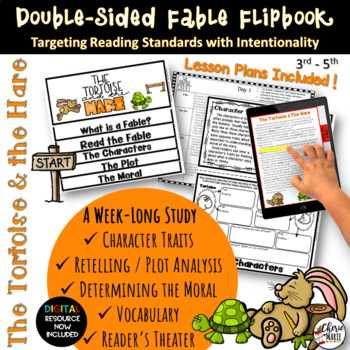 Fables 3rd Grade 4th Grade The Tortoise The Hare RL3 2 RL3