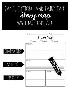 Fable, Folktale, and Fairytale Story Map