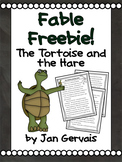 Fable Freebie The Tortoise and the Hare