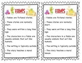 Fable Interactive Notebook Pages