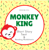 """Fable Legend """"The Monkey King"""": Digital Text w/ Annotation & Reading Activities"""