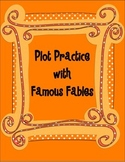 Fable Plot Chart Practice Review Activity Stations Centers Sequencing STAAR
