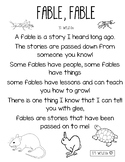Fable Poem