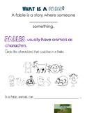 Fable, PreK, Intro
