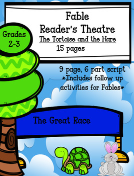 Fable Reader's Theatre.  The Tortoise and the Hare: Literacy Activities