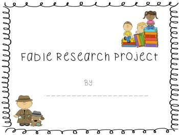 Fable Research Project