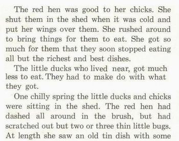 Fables: RED HEN and CHICKS + FUNNY OLD HEN  Read Comprehension Strategy 2 for $1