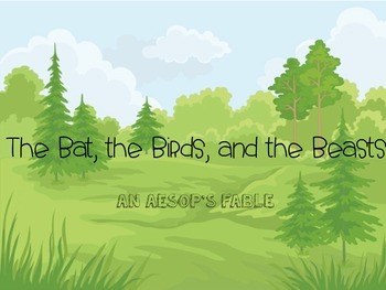 Fable Slideshow-The Bat, the Birds, and The Beasts