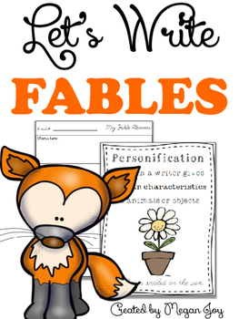 Fable Story Writing Unit