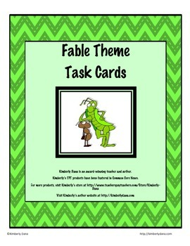 Fable Theme Task Cards