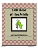 Fable Theme Writing Packet - Distance Learning