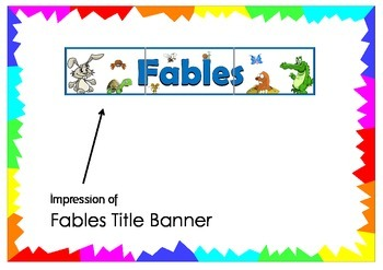 Fables Title Banner
