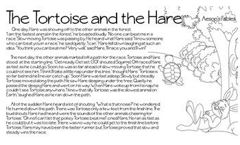 Fable Tortoise and Hare