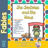 Fables 3rd Grade Tortoise and Hare Common Core RL3.1 RL3.4 RL3.2