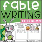 Fable Writing {RL.2.2}