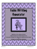 Fable Writing Generator - Distance Learning