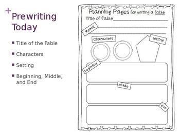 Fable Writing - Step by Step, Day by Day