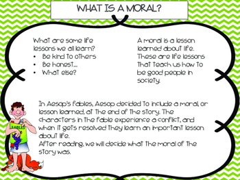 Fable Writing Unit