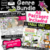Fables & Fairy Tales 3rd Grade 4th Grade Bundle RL3.2 RL4.2 RL5.2 RL3.3 RL4.3