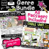 Fables & Fairy Tales Teaching Theme 3rd 4th 5th Grades RL3.2 4.2 5.2 RL3.3 4.3