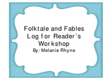 Fable and Folktale Logs for Readers