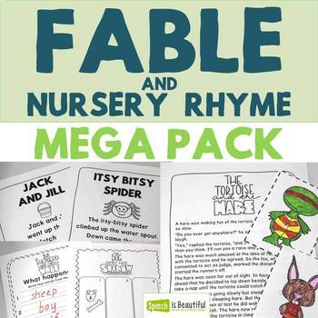Fable and Nursery Rhyme Mega Pack - Story Retell and Describing Fun