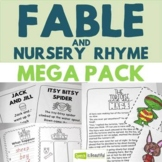 Fable and Nursery Rhyme Mega Pack - Story Retell, Describi