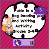Fable in a Bag Writing Activity, Literacy