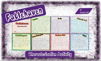 Fablehaven Characterization Activity