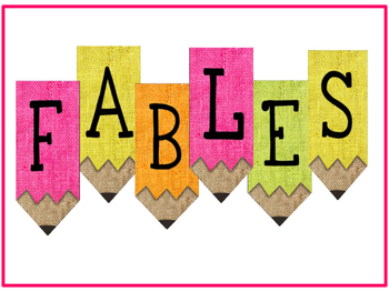 Reading Comprehension: Fables with comprehension printables