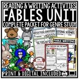 Aesop's Fables Genre Reading Comprehension Passages Writin