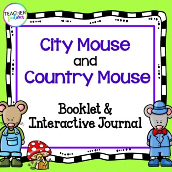 City Mouse and Country Mouse (Fables & Folktales)