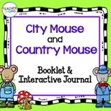 FABLES AND FOLKTALES ACTIVITIES for COMMON CORE City Mouse and Country Mouse