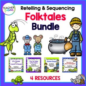 Fairytales, Fables and Folktales Activities and Tales for Common Core Bundle