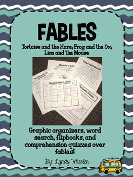 Fables - Frog and Ox, Tortoise and Hare, Lion and Mouse